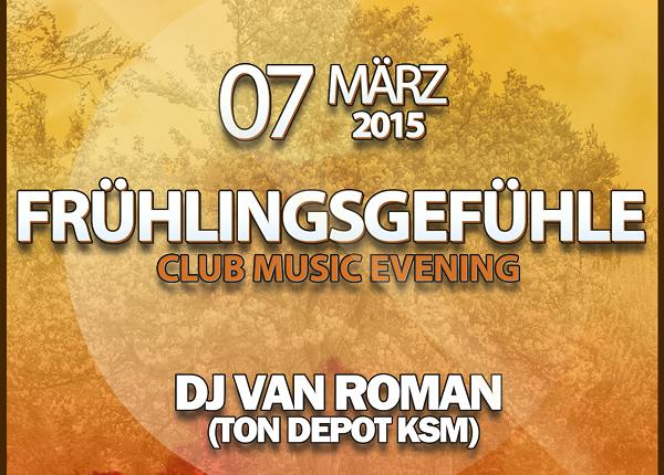 Frühlingsgefühle im Miss Marple´s Erfurt mit DJ van Roman