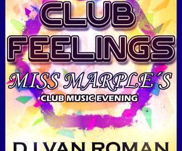 Club Feelings im Miss Marple´s Erfurt mit DJ van Roman