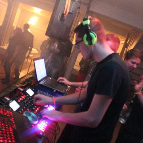 Kirmes in Nottleben mit DJ van Roman