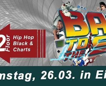 BACK TO THE 90`s Party auf 2 FLOORS – Die große musikalische Reise in die Vergangenheit