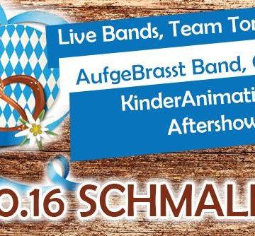 Oktoberfest Aftershowparty Schmalkalden