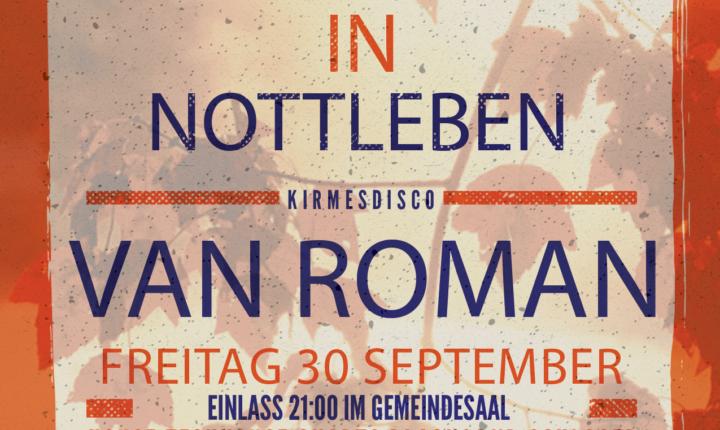 Kirmesdisco Nottleben 2016 mit DJ Van Roman