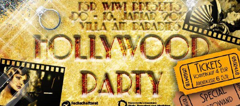 Hollywood Party – eine Nacht auf dem roten Teppich – Mit Van Roman und AcaDos – WiWi Party