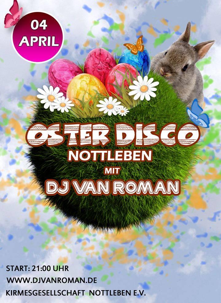 Oster-Disco Nottleben mit DJ van Roman 4. April 2015